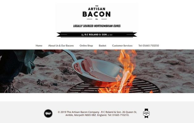 The Artisan Bacon Company Home Page