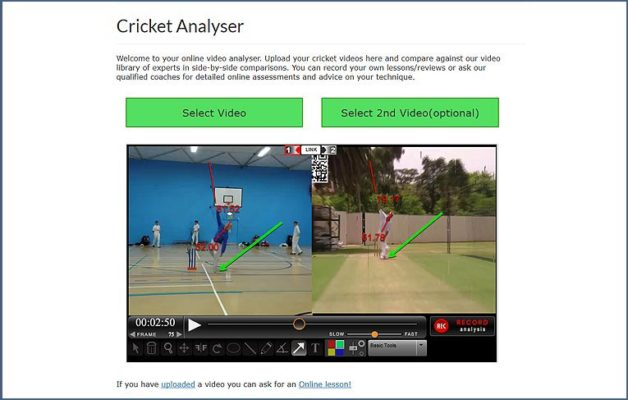 Video Coaching - Cricket With Hirschy