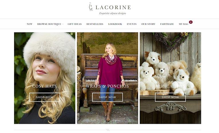 Lacorine - Exquisite Alpaca Designs